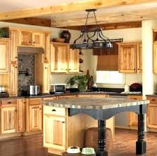Natural Wood Kitchen Cabinets Lovely Oak  Intended Maple Cabinet Hickory63