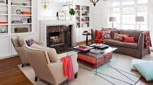 Better Homes And Gardens Living Room Arranging TV Vs Fireplace
