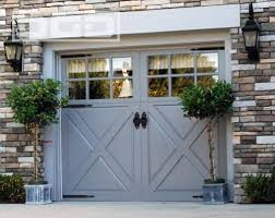 french glass garage doors. Barn Style Garage Glass Window White Shutter Brick Wall Outdoor Lights French Doors O