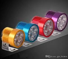 Elegant ... LED Beleuchtung Auto Motorrad LED Scheinwerfer Vier Perlen Externes  Licht 12 85V Allgemeine Scheinwerfer ...