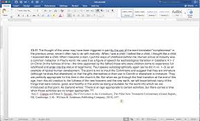 Word And Footnotes Logos Bible Software Forums