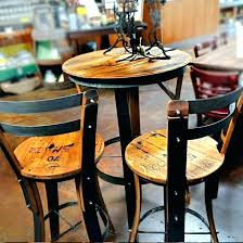 small round bistro table round pub table and chairs square pub table bistro table furniture where