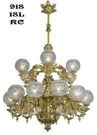 victorian chandelier neo rococo circa 1857 18 light 918 18l rc