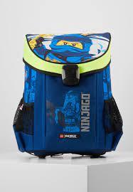 Lego Bags NINJAGO® JAY OF LIGHTNING EASY SCHOOL BAG DRAWSTRING BAG SET -  School set - blau/blue - Zalando.de