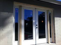 therma tru french door screens entry patio and house to garage doors
