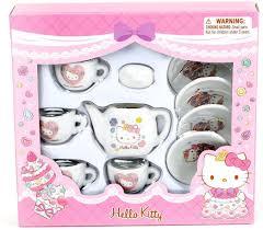 See more ideas about hello kitty, hello kitty colouring pages, hello kitty coloring. Amazon Com Sanrio Hello Kitty Mini Porcelain Tea Set Sweet Princess Toys Games