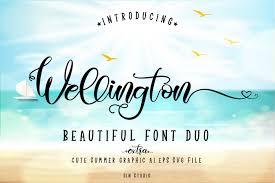 Ocean Design Wellington Wellington Regular Font Free For Personal Commercial