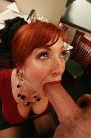 Redhead Sucks Huge Cock