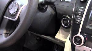 2012   Toyota   Camry   Start Car With Dead Smart Key Battery ...