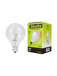 <b>Лампа галогенная SHOLTZ</b> глобус G95 E27 70Вт 2800K 220В ...
