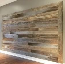 grey brown mix accent wall wood