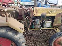 af15 tractor oldtimer from the fifties