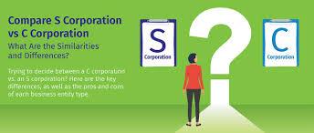 S Corp Vs C Corp Differences Benefits Bizfilings