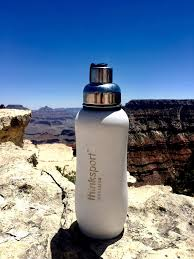<b>Thinksport Insulated Sports</b> Bottle, 12 oz, Light Blue: Amazon.ca ...