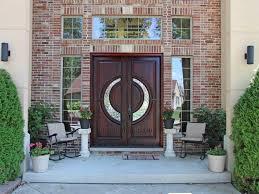Glass Door Dreamy Mansion Entrance Door Arched Top Door With - High end exterior doors