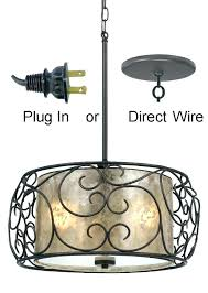 plug in hanging light fixtures hanging lamps that plug into wall outdoor pendant light with plug