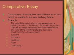 skills you need to write a great essay ppt video online  comparative essay comparison of similarities and differences of two topics in relation to an over arching