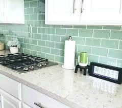 kitchen backsplash glass tile green. Green Subway Tile Best Ideas On Glass  Bathroom Kitchen Backsplash
