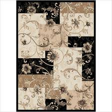 furniture php black and tan area rug great outdoor area rugs