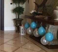 balloon decor with no helium