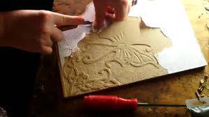 Wood Carving Dremel Introduction To Relief Carving Wood Mdf Youtube