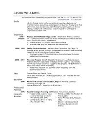 Professional Business Resume Sample Free Sample Resumes Professional ...