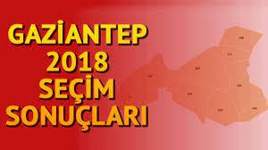 Gaziantep seçim sonuçları açıklandı | 2018 Seçimleri Gaziantep sonuçları