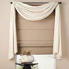 guest bedroom curtain idea already have the blind and rod just need