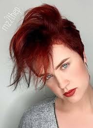 Charming short red hairstyles ideas Pixie Cuts Short Hairstyles For Women With Thin Fine Hair Long Pixie Hairstyles Galaxy 55 Short Hairstyles For Women With Thin Hair Fashionisers