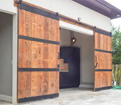 ody said our barn doors have to stay inside they look great on a tool shed