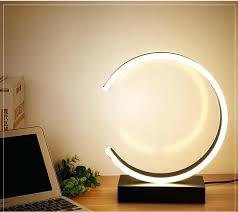 c shaped led table lamp modern desk makeup lighting at design tall lamps uk