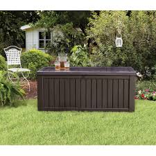 keter deck box 150 keter rockwood deck box 150 gallon sams club deck box