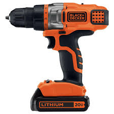 black and decker tools. black+decker 20-volt max lithium-ion cordless drill/driver with battery black and decker tools l