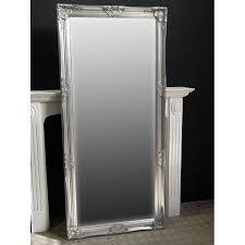 silver floor mirror. Silver Floor Mirror
