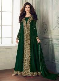 Full Length Suit Design Floor Length Suits Buy Floor Length Designer Suits At Wholesale Rate From Ethnicwholesale