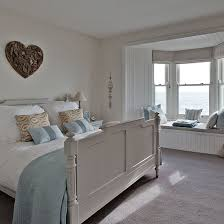 New England Style Bedroom With Heart Wall Art Step Inside This