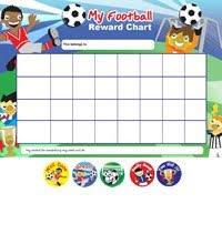 Free Printable Football Reward Chart A4 Football Goal