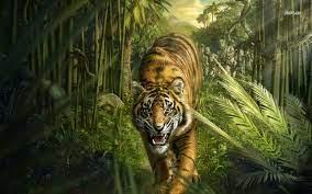 Jungle wallpaper ...