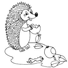 Small Picture Kids n funcom 32 coloring pages of Hedgehogs