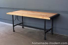 homemade modern diy ep68 pipe coffee table options