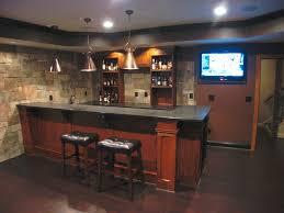 basement bar stone. Custom Basement Bar Stone Veneer Wall Funds Saving With Small Remodel Ideas