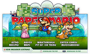 Super Paper Mario User Screenshot    for Wii   GameFAQs