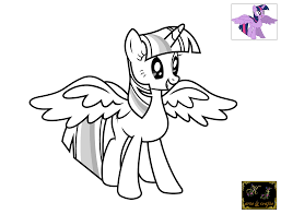 Small Picture Fresh Twilight Sparkle Coloring Page 49 For Picture Coloring Page