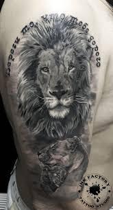 тату фото львы