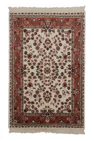 4 x 6 persian style hand knotted wool rug 5950