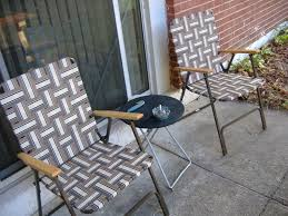 how to clean aluminum lawn chairs