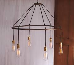 round edison bulb chandelier edison light bulb chandelier diy