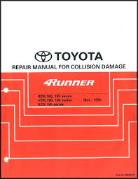 1996 toyota 4runner wiring diagram manual original related products