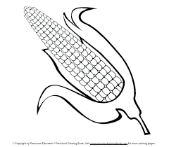 Corn Coloring Page 2149703