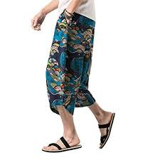 BLFGNCOB Men's Summer Loose Baggy <b>Hip</b>-<b>hop Harem Pants</b> ...